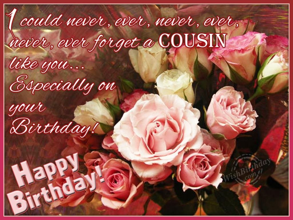 Birthday greetings for my girl cousin ltt wishing you happy birthday my dear cousin m4hsunfo