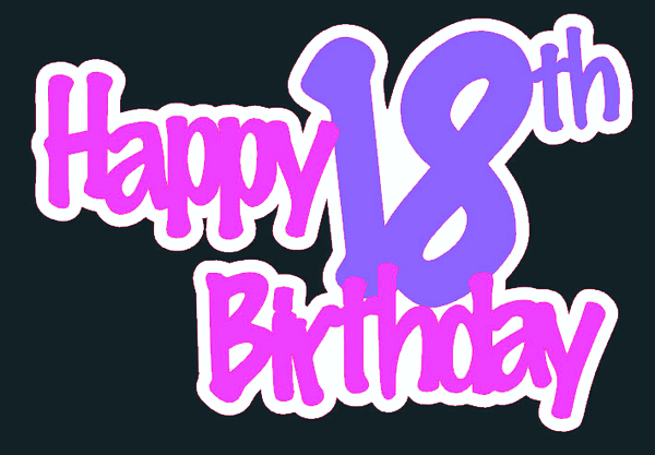 Happy Bday Wallpaper With Quotes Sweet Happy 18th Birthday Wishes Wishesgreeting