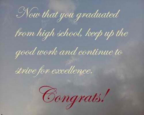 The 55 High School Graduation Wishes WishesGreeting