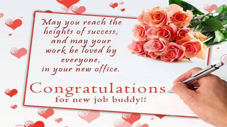 Funny New Job Messages For Best Friends - WishesMsg - congrats on new position