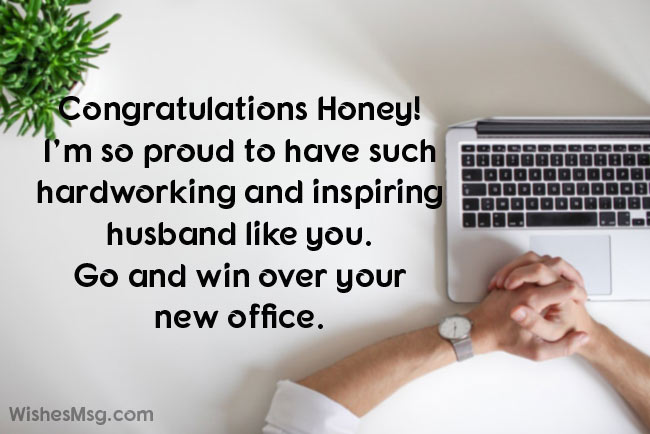 Best Wishes For New Job - Congratulations Messages For New Job