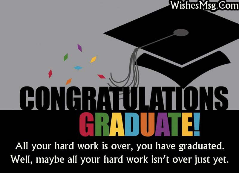 Graduation Wishes and Messages - Congratulation Quotes - WishesMsg