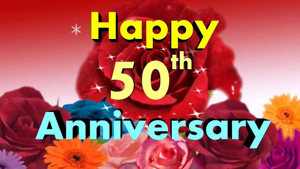 Husband And Wife Love Quotes Wallpapers 50th Wedding Anniversary Wishes And Messages Wishesmsg