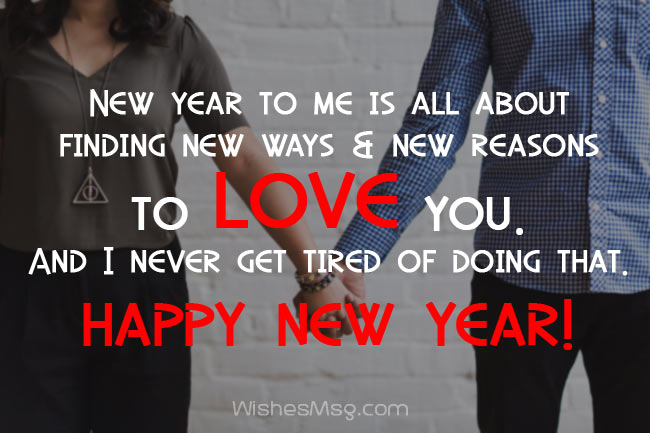 happy new year 2018 new year wishes for boyfriend romantic new year messages for him