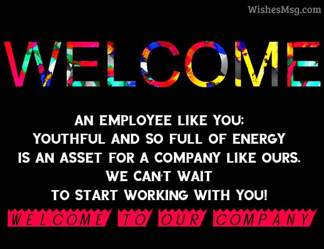 Welcome Messages - Best Welcome Message Examples WishesMsg