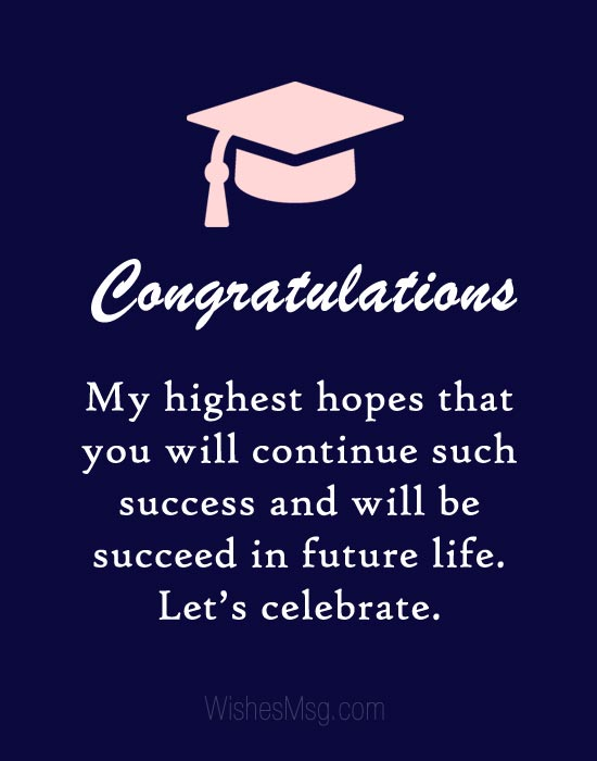 Graduation Wishes for Friend - Congratulation Messages - WishesMsg