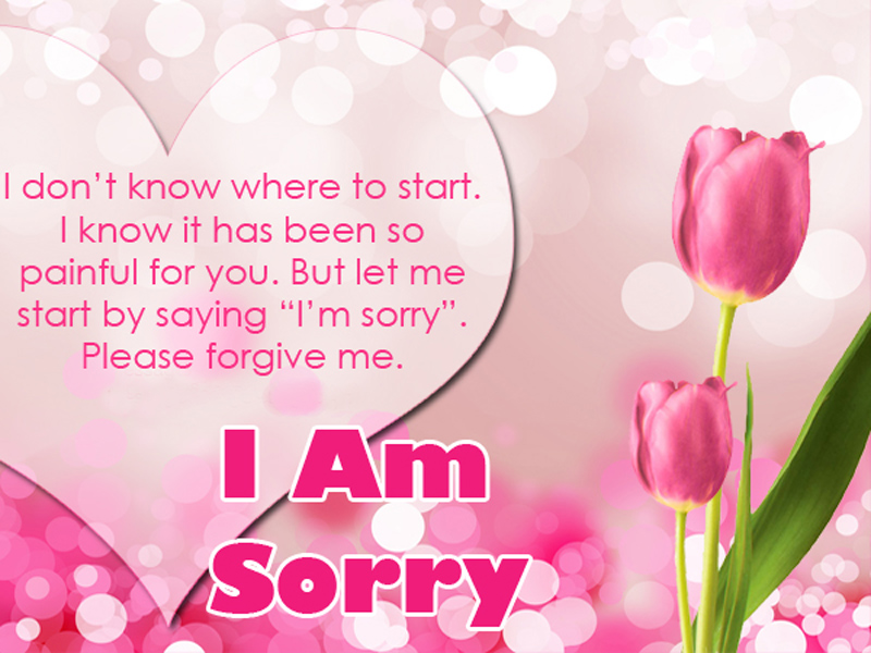 Sorry Messages For Husband - Best Apology Quotes - WishesMsg - apology card messages