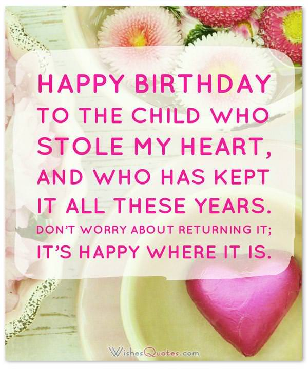 Happy Birthday Daughter - Top 50 Daughter\u0027s Birthday Wishes - sample happy birthday email