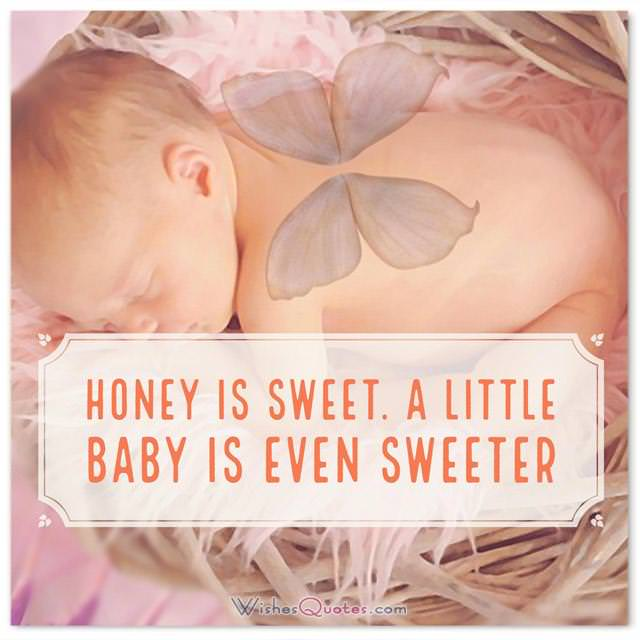 Baby Girl Congratulation Messages with Adorable Images