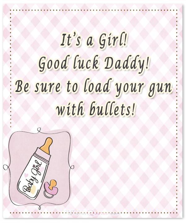 Baby Girl Congratulation Messages with Adorable Images - greeting for new baby girl