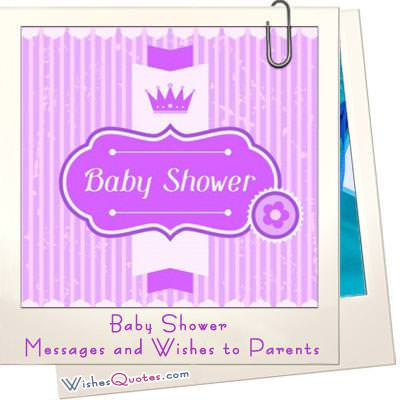 Baby Shower Messages and Wishes to Parents