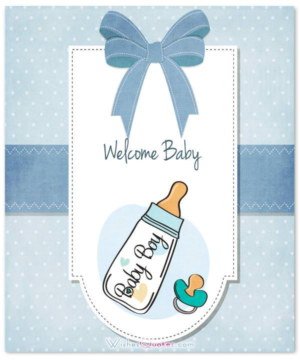 Baby Boy Congratulation Messages with Adorable Images