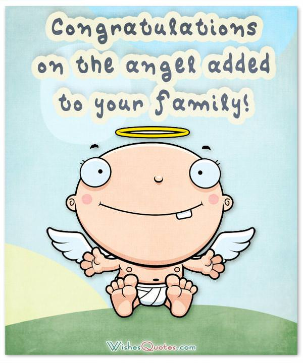 Newborn Baby Congratulation Messages with Adorable Images - congratulation for the baby boy