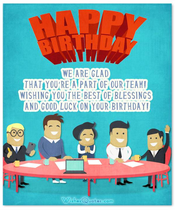 This Work Crew Is Awesome Quotes Wallpaper 33 Heartfelt Birthday Wishes For Colleagues