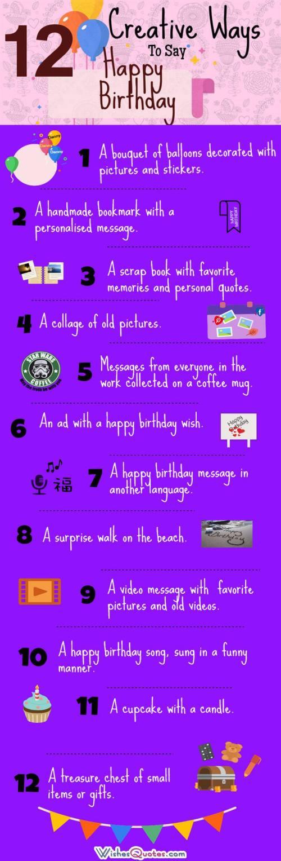 Medium Of Ways To Say Happy Birthday