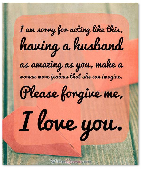 Sorry Messages for Husband How to Keep the Love Alive Conscious - apology card messages