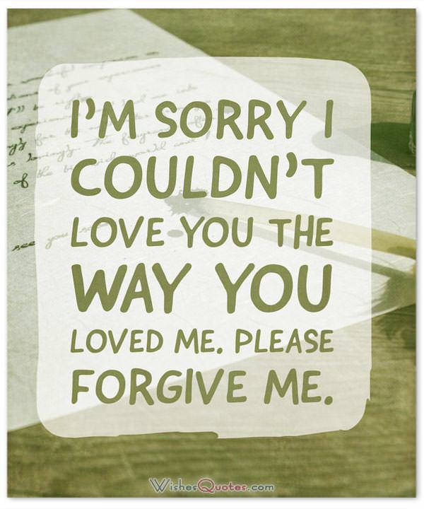Writing an Apology Letter to Boyfriend \u2013 Samples and Tips for Sorry - example of apology letter