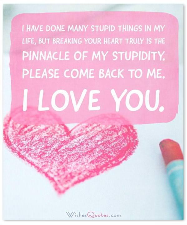 I\u0027m Sorry Messages for Boyfriend Sweet Apology Quotes for Him - apology card messages