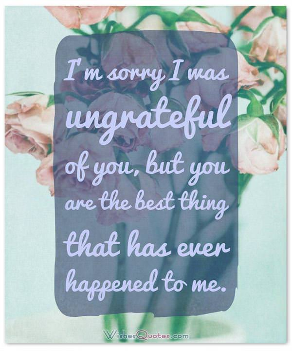 I\u0027m Sorry Messages for Wife Sample Apology Letter and Quotes - apology card messages