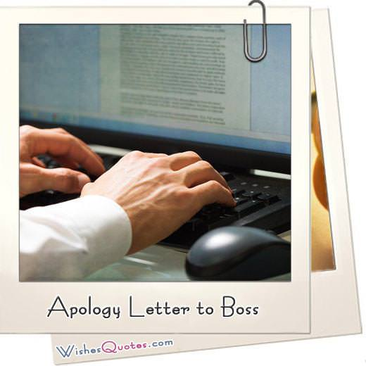 Samples  Tips to Write Apology Letter to your Boss