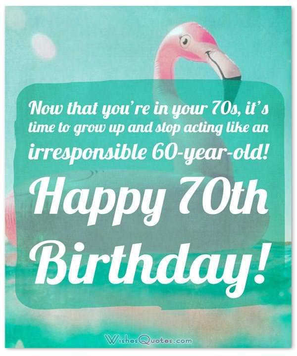 70th Birthday Ecard 20 Best Party Invitations
