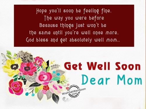 Medium Of Hope You Feel Better Soon