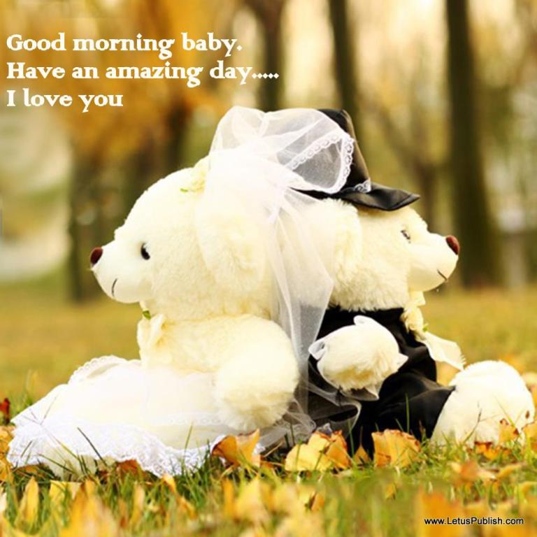 Punjabi Couple Wallpaper With Quotes Good Morning Wishes With Teddy Pictures Images