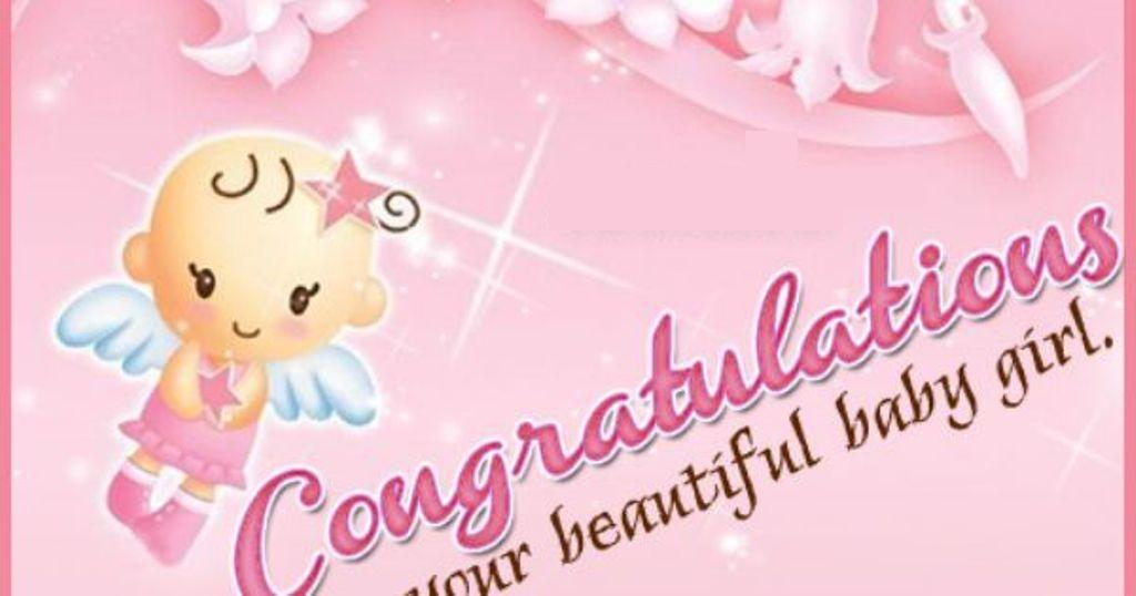 Image Congrats On Your New Baby Girl - Wishes, Greetings, Pictures