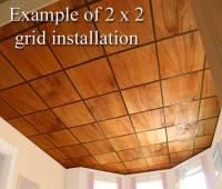 Red Oak Veneer Ceiling Tiles at Wishihadthat.com