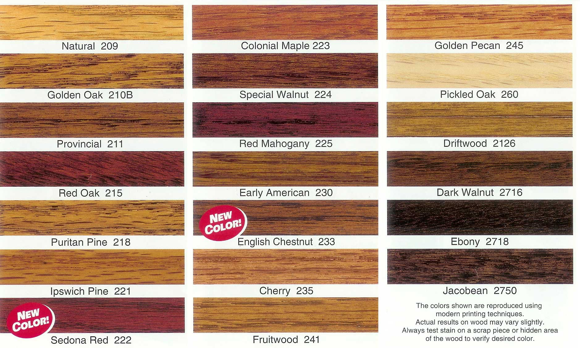 Minwax Colors on Pine Minwax Wood Stain Colors Red