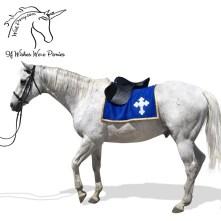 Emblem Saddle Blanket