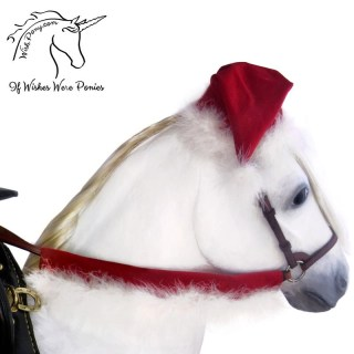 Wishpony Christmas Rein Covers