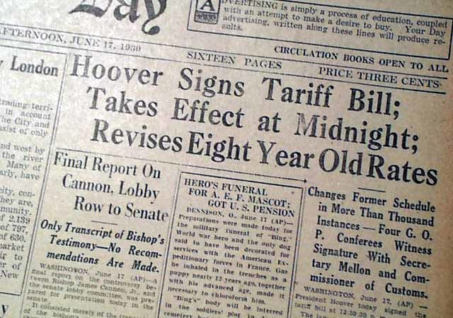 Did the Smoot-Hawley Tariff Cause the Great Depression?