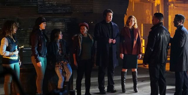 After a would-be a cappella star's body is found at one of Martha's rehearsals, Castle & Beckett must discover who wanted the young parolee dead.