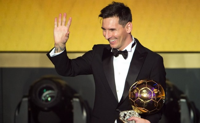 Lionel Messi Has Already Won The Ballon D Or Says