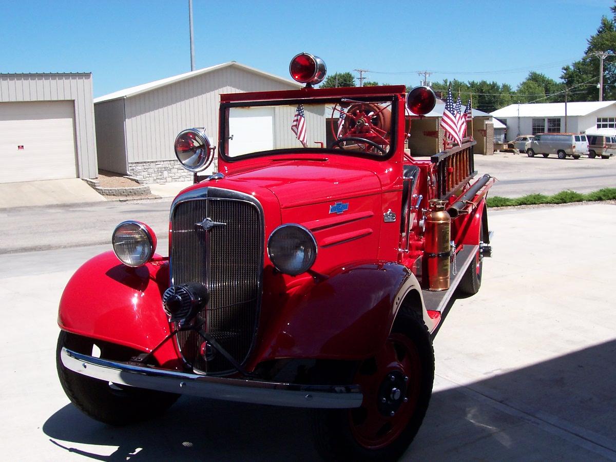 Restoration 1936 Chevrolet Firetruck 005