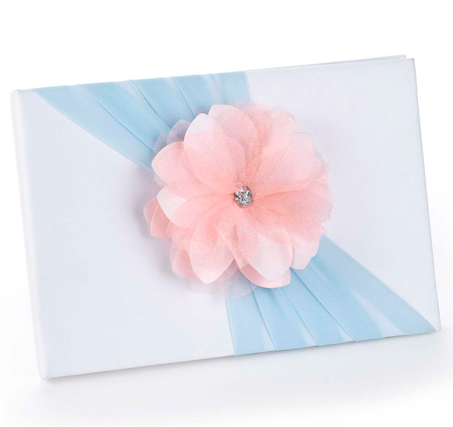 Pretty Pastels Wedding Guest Book Spring Wedding Guest Book