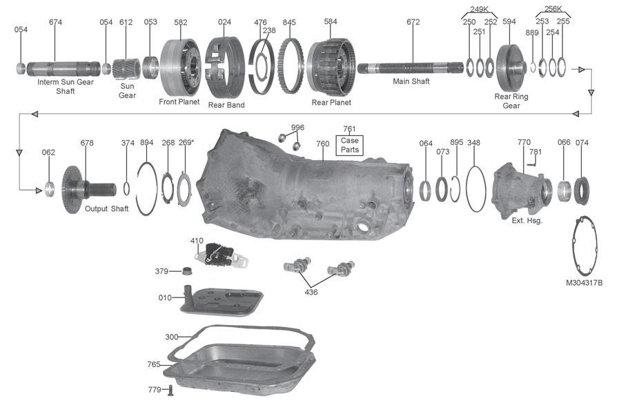 4l80e Parts Diagram - Wiring Diagram Progresif