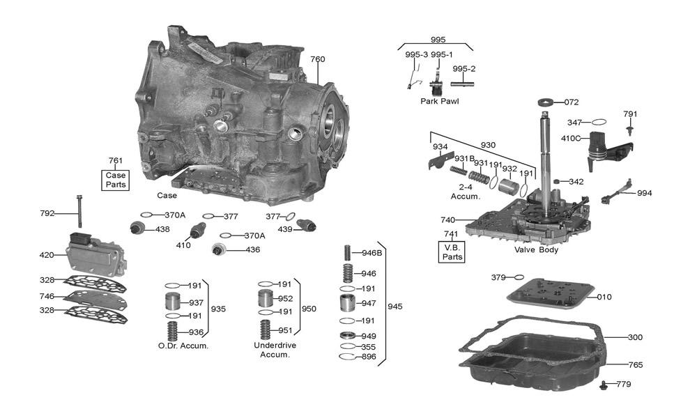 a604 wiring diagram