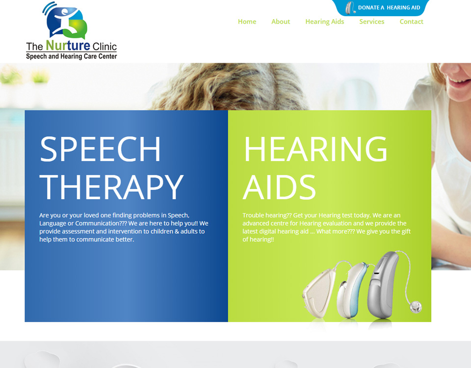 nurture-clinic-website