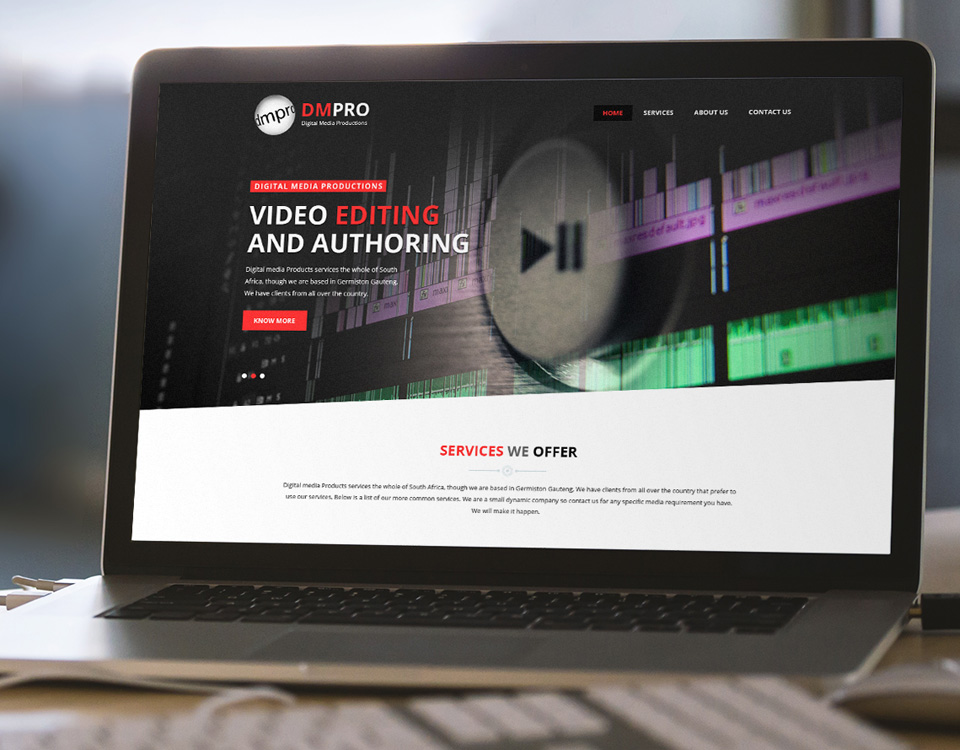 digital media productions website