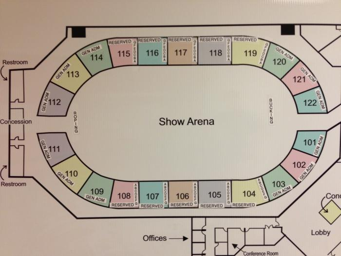Kentucky expo map