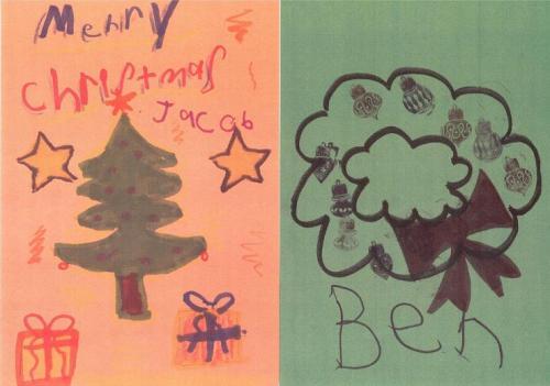 KAP Christmas Cards - Kelly Autism Program - WKU Western Kentucky