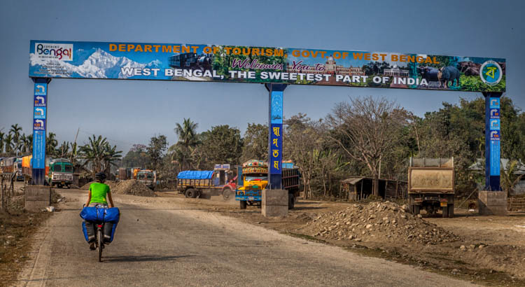 Przejście graniczne pomiędzy Indiami a Bangladeszem