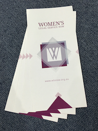 Women's Legal Service NSW Brochure