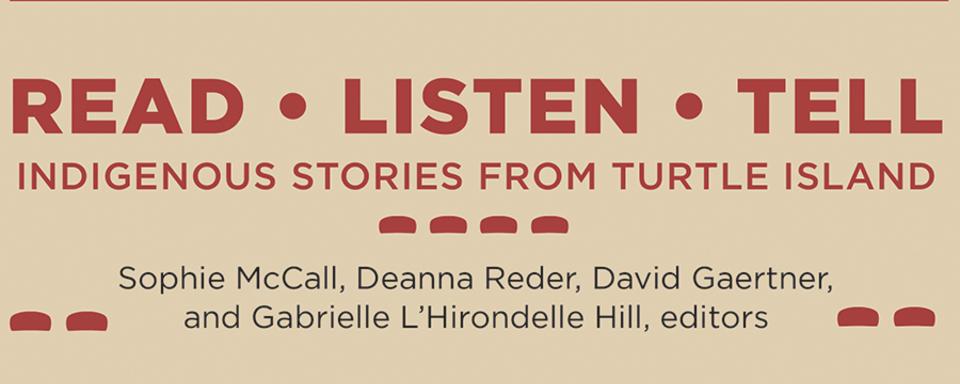 New Titles in Indigenous Studies \u2013 WLU Press