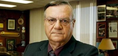 Arizona Sheriff Joe Arpaio