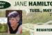 Jane Hamilton author visit