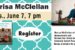 Marissa McClellan author visit 2016