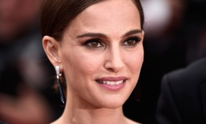 """CANNES, FRANCE - MAY 19:  Natalie Portman attends the """"Sicario""""  Premiere during the 68th annual Cannes Film Festival on May 19, 2015 in Cannes, France.  (Photo by Ian Gavan/Getty Images)"""